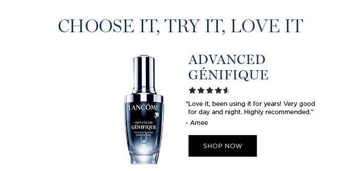 """CHOOSE IT, TRY IT, LOVE IT - ADVANCED GNIFIQUE - """"Love it, been using it for years! Very good for day and night. Highly recommended."""" - Amee - SHOP NOW"""
