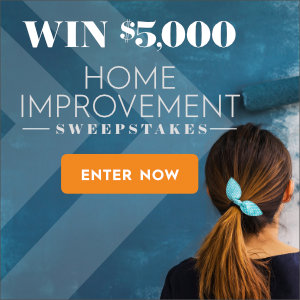 Home improvement sweepstakes fall 2018