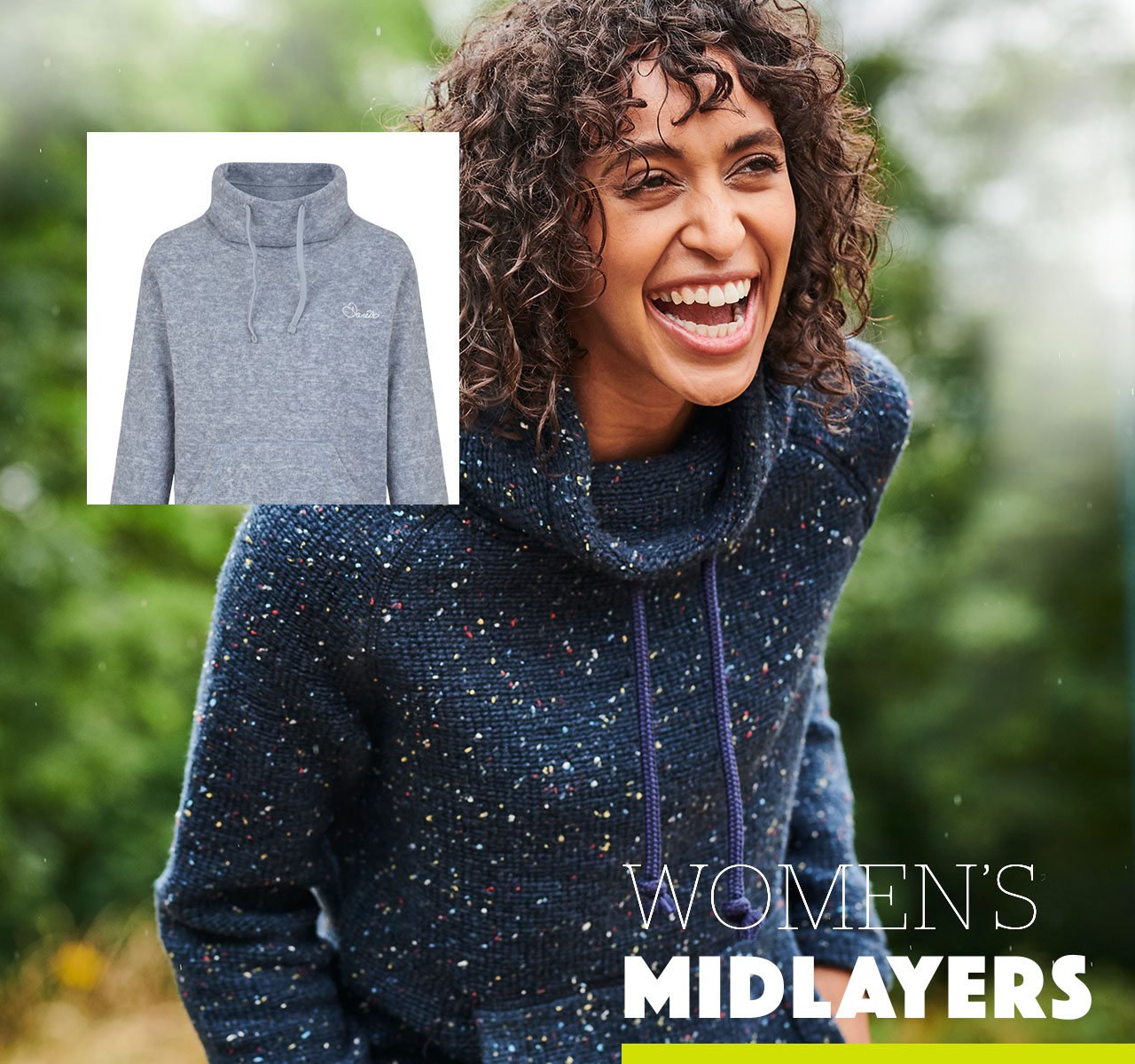 Women's fleeces and midlayers