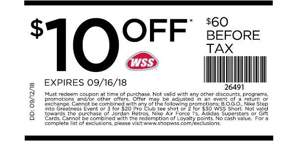 Shop WSS: Shoes Under $40 + New Coupon