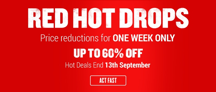 Red Hot Drops > (Ends 13th)