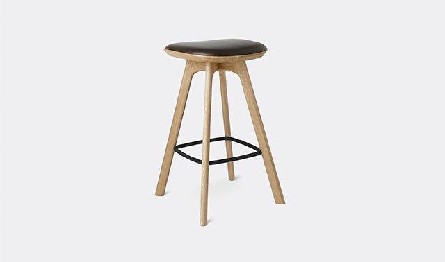 'Blling Pauline' bar stool by Brdr. Krger