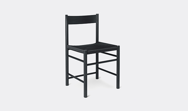 'F Chair' dining chair by Brdr. Krger
