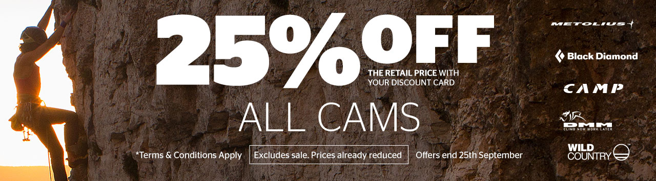 25% off CAMS