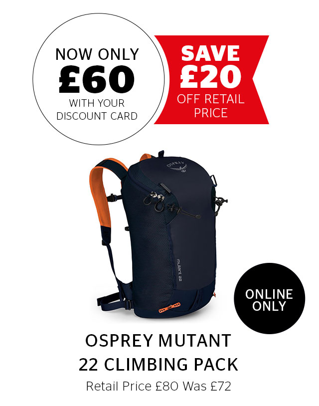 Osprey Mutant 22 Climbing Pack