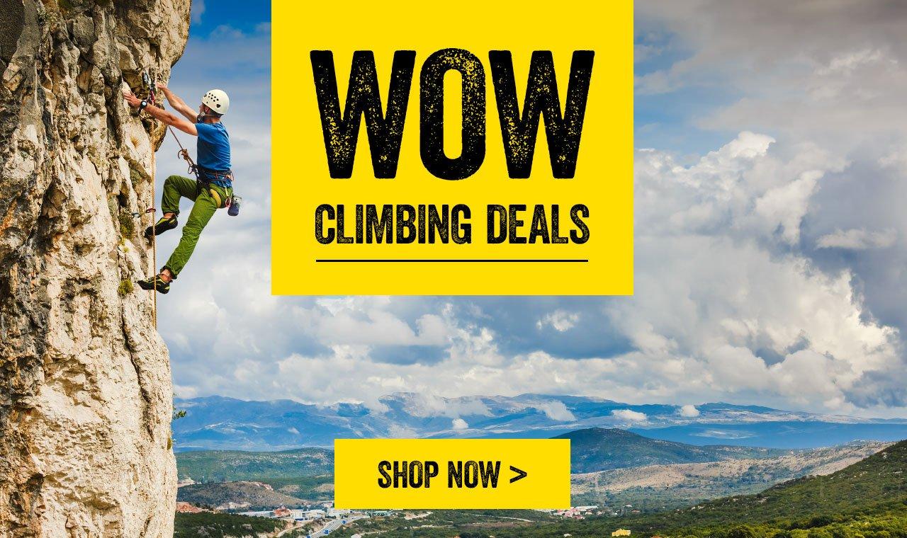 WOW Climbing Deals