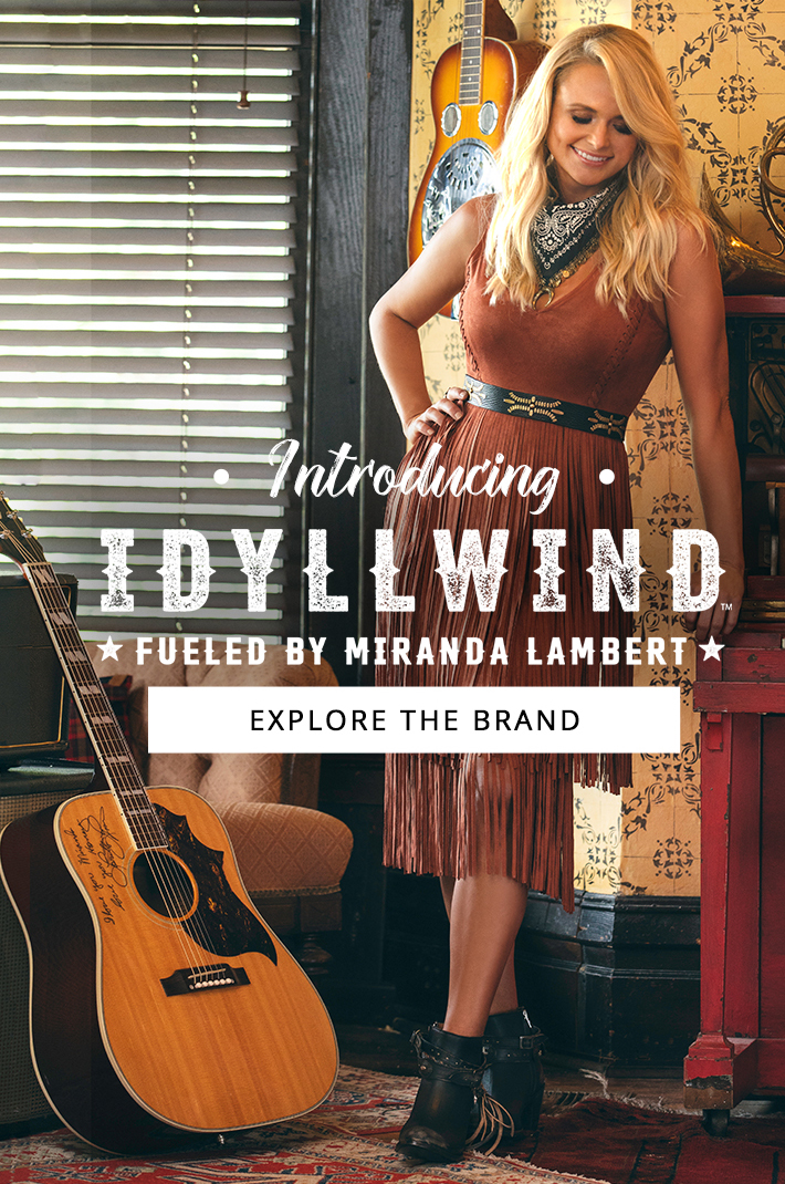 160a036907456 Country Outfitter: Introducing Idyllwind - Fueled By Miranda Lambert ...