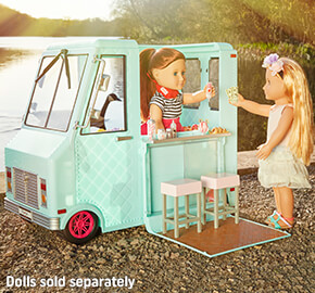 Our Generation Sweet Stop Ice Cream Truck 52cm