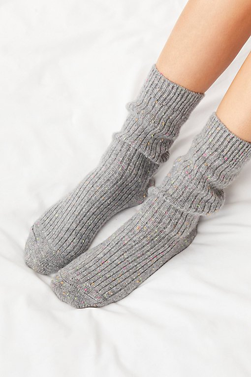 Favorite Slouchy Cashmere Sock