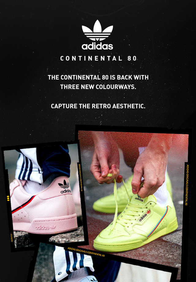 Just Dropped: adidas Continental 80