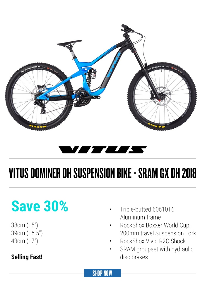 Vitus Dominer DH Suspension Bike - Sram GX DH 2018