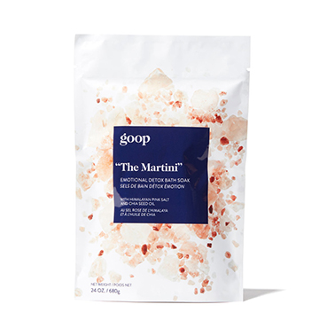 goop Body The Martini Emotional Detox Bath Soak $35
