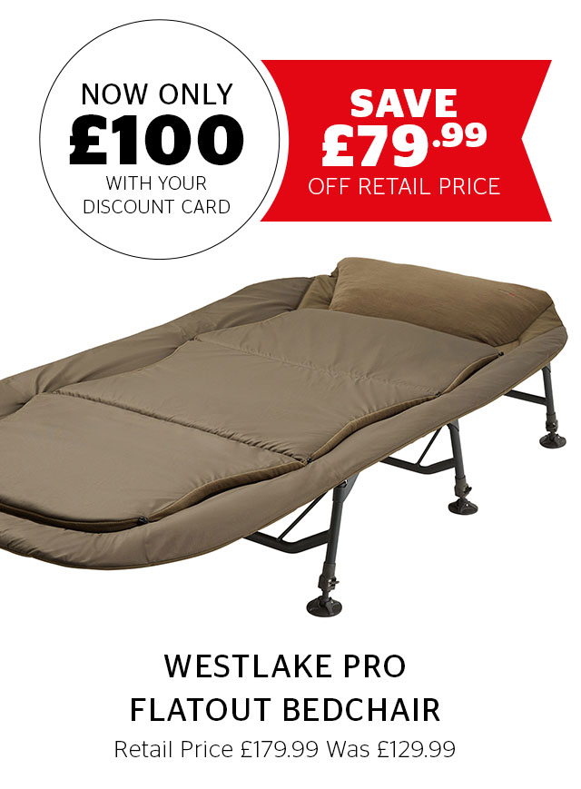 Westlake Pro Flatout Bedchair