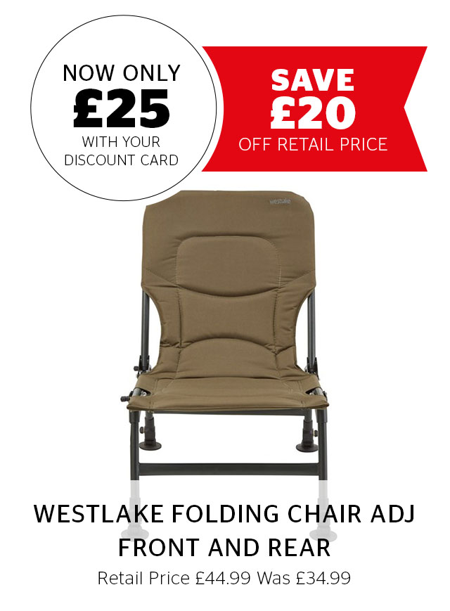 Westlake Folding Chair Adj Front and Rea