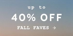 Shop up to 40% off select styles.