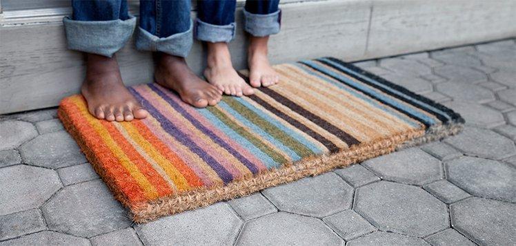 Doormats That Make an Entrance
