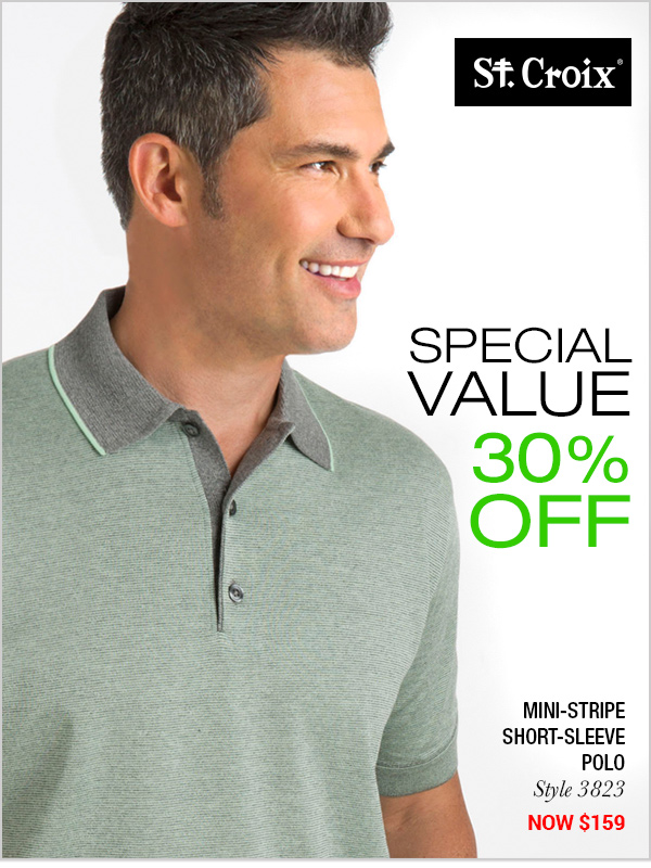 Mini-Stripe Polo - Style 3823