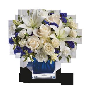 Teleflora's Sapphire Skies Bouquet