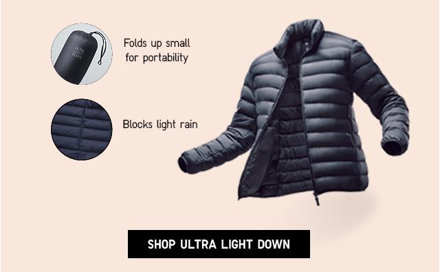 SHOP ULTRA LIGHT DOWN