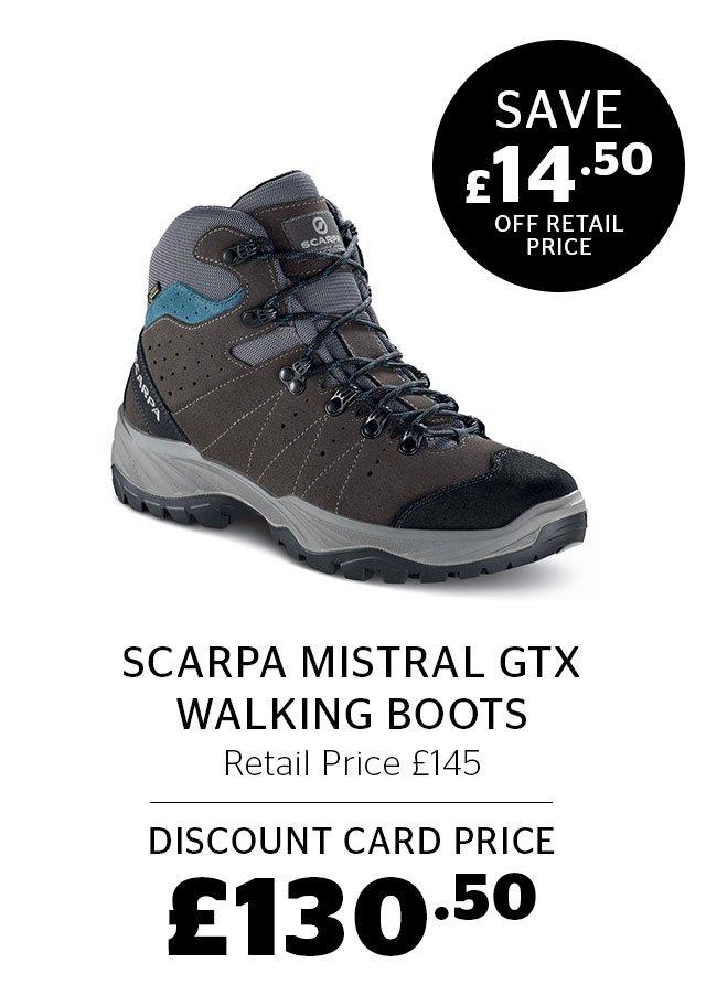 Scarpa Mistral GTX Walking Boots