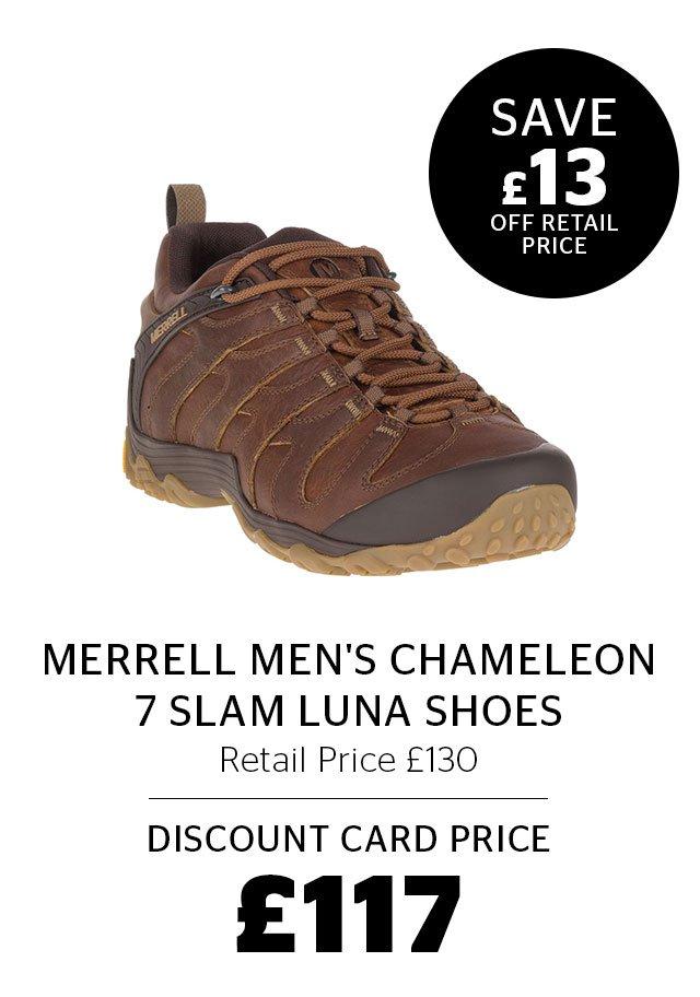 Merrell Men's Chameleon 7 Slam Luna Shoes