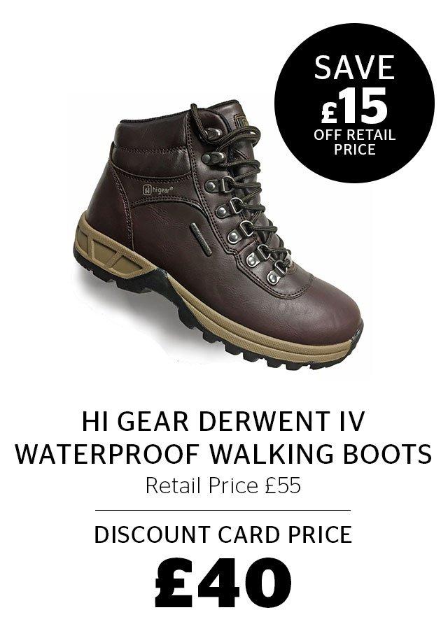 Hi Gear Derwent IV Waterproof Walking Boots