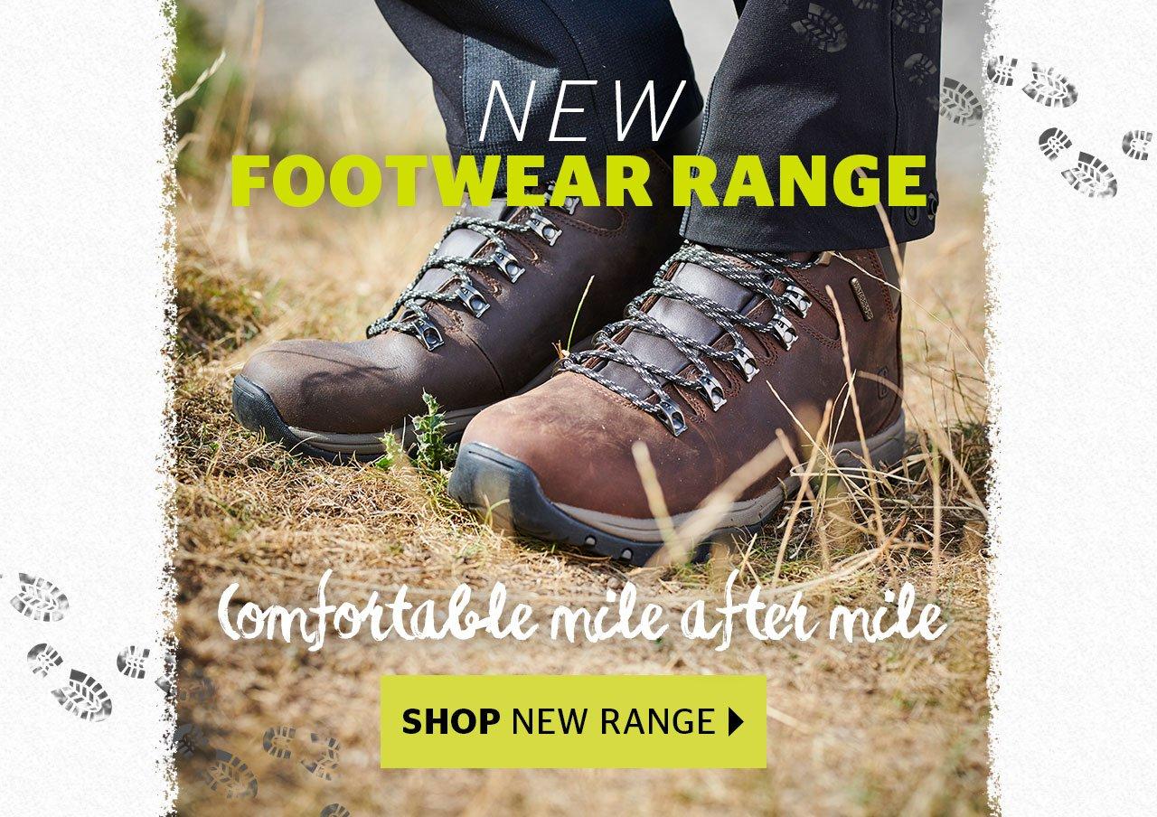 New AW18 Footwear Range