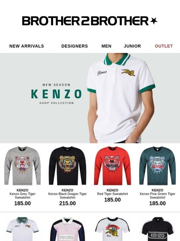 4f130b02 www.brother2brother.co.uk: Be the first to shop the new Kenzo collection |  Milled