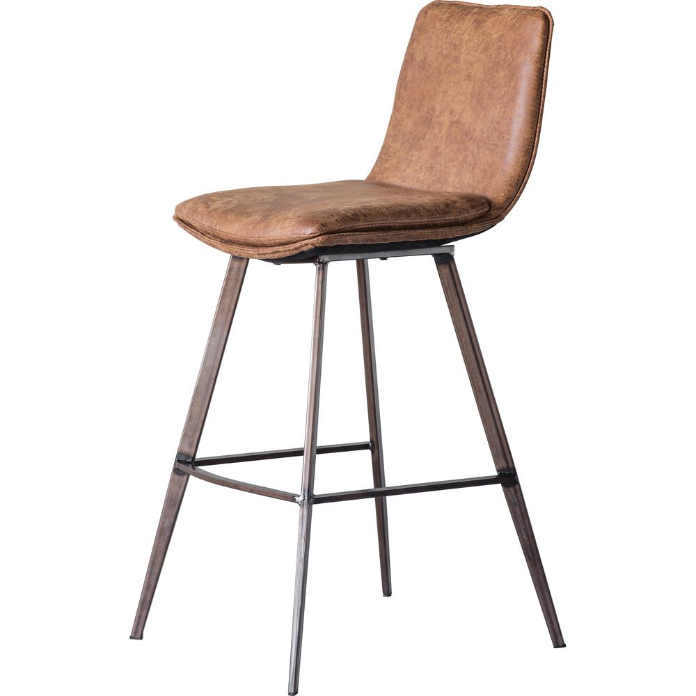 Image of CASSIE BAR STOOL TAN 2/PACK