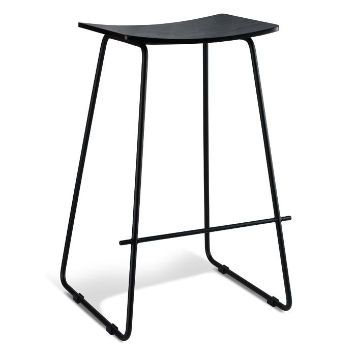 Image of PORTER STOOL BLACK