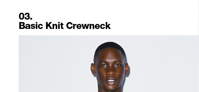 Basic Knit Crewneck