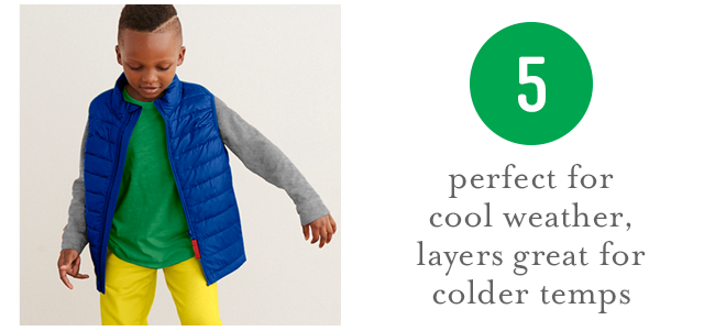perfect for cool weather, layers great for colder temps