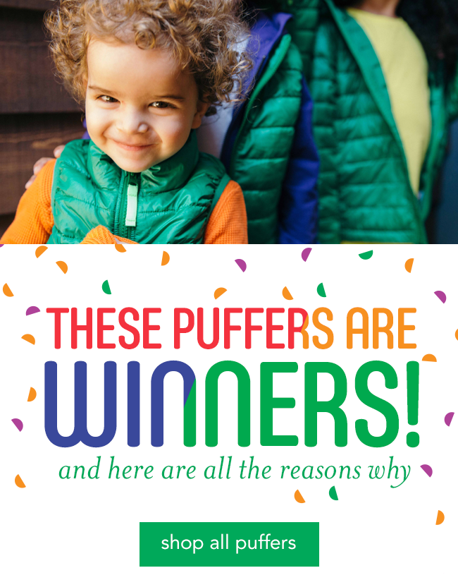these puffers are winners! and here are all the reasons why