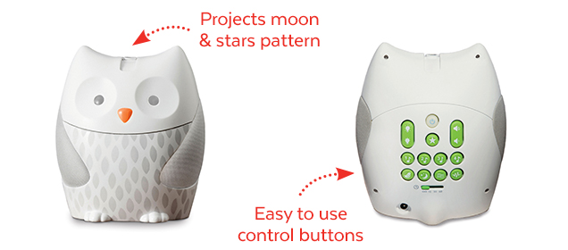 Projects moon & stars pattern | Easy to use control buttons