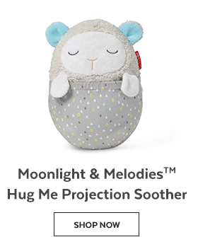 Moonlight & Melodies Hug Me Projection Soother | Shop Now