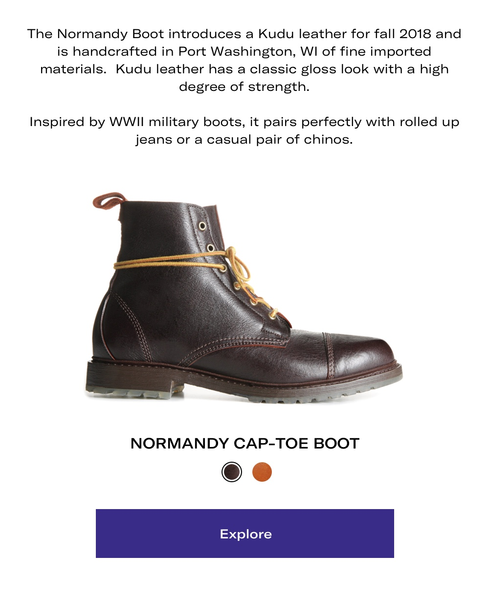 Explore the Normandy Boot