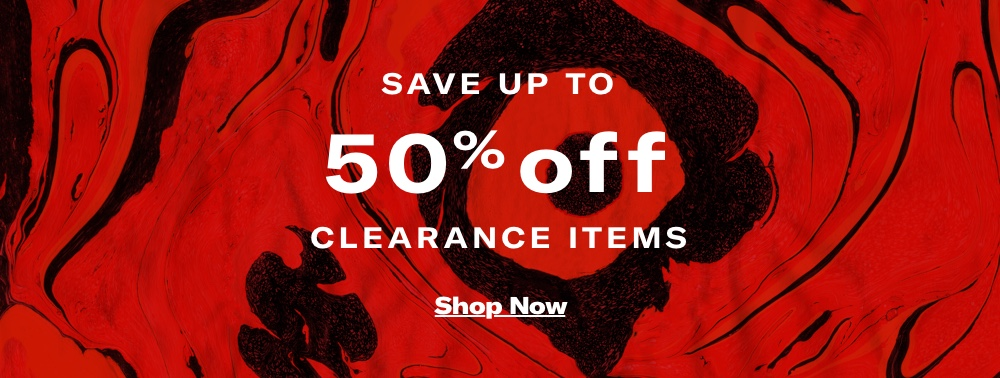 Shop up to 50% off Clearance