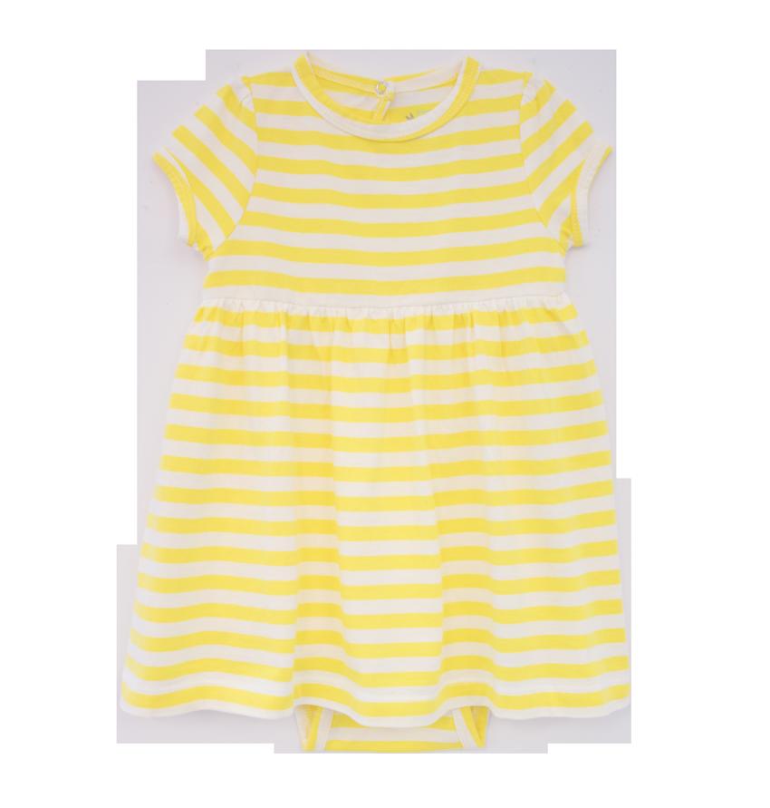 the stripe baby dress