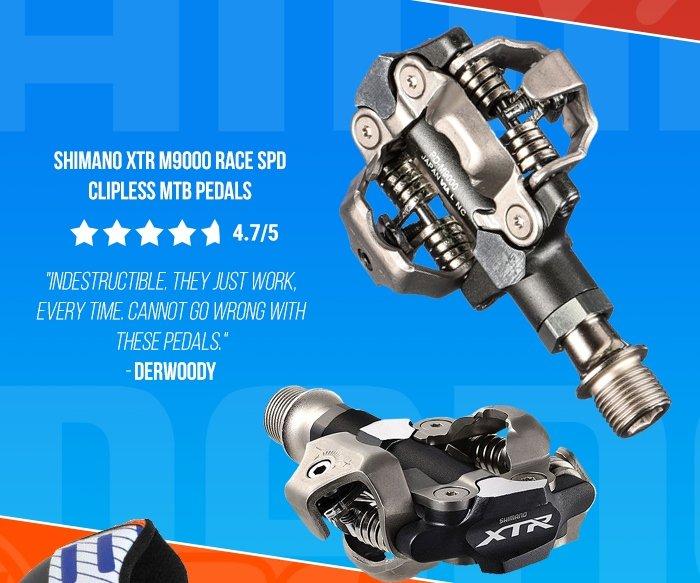 Shimano XTR M9000 Race SPD Clipless MTB Pedals