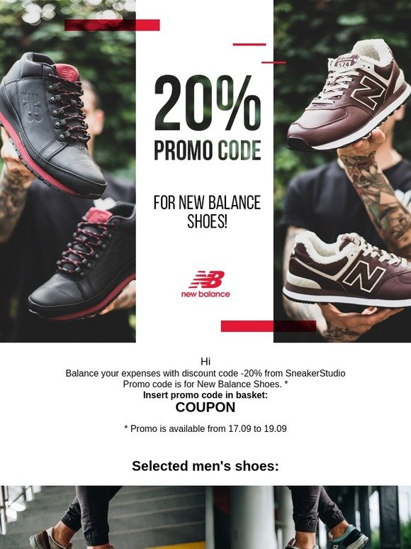 basket new balance promo