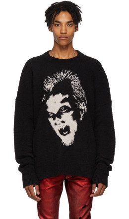 Amiri - Black Lost Boys Crewneck Sweater