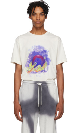 Off-White - White World Hand T-Shirt