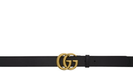 Gucci - Black GG Belt