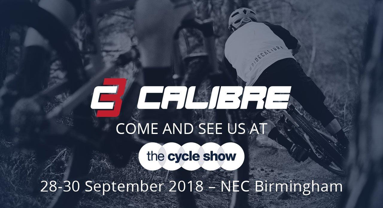 Calibre at the NEC Cycle Show