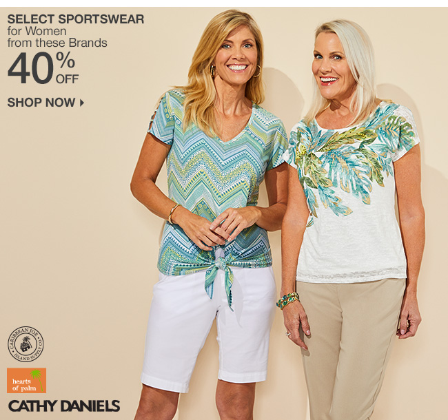 Shop 40% Off Select Sportswear for Women
