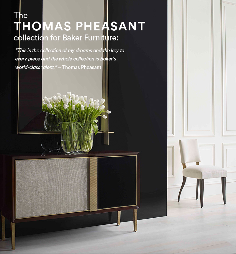 The Thomas Pheasant Collection For Baker Furniture: Thomas Pheasantu0027s  Insistence On Purest Function Comes First