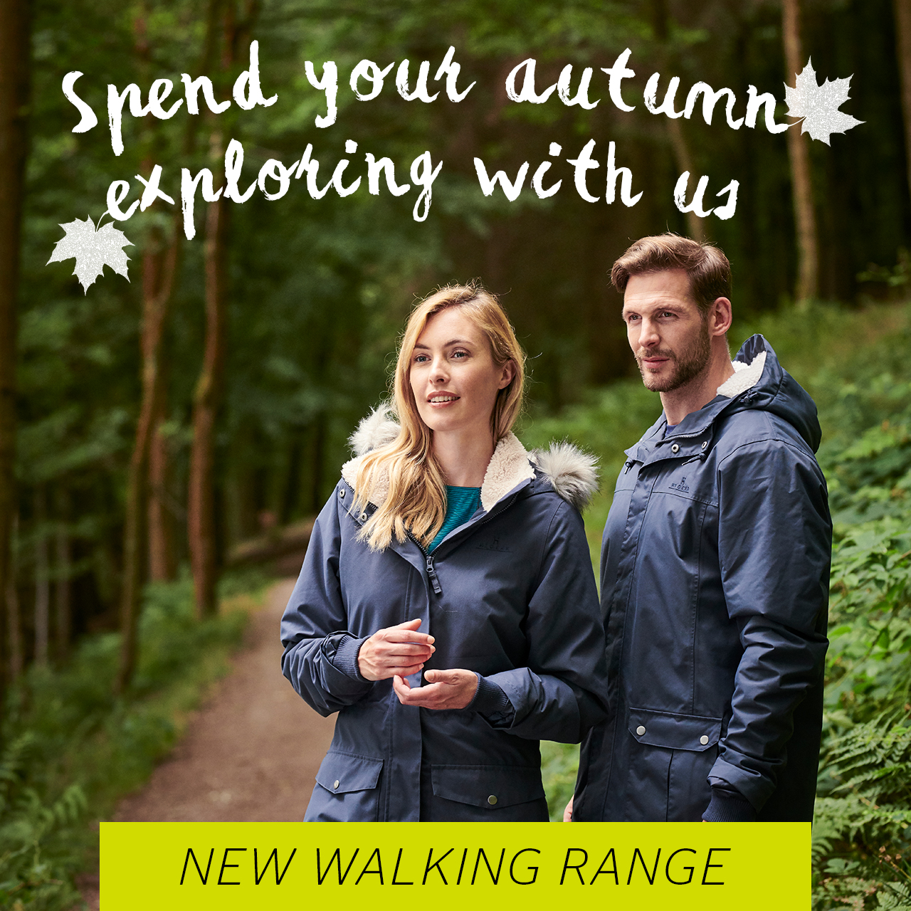new season walking gear