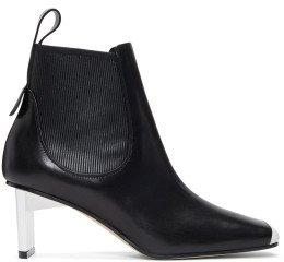 Loewe - Black & White Blade Heel Boots