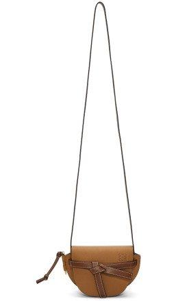 Loewe - Brown Mini Gate Bag