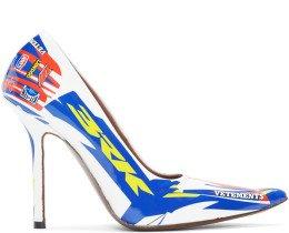 Vetements - White Race Heels